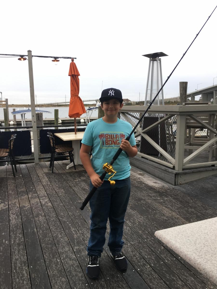 2019 Hi-Mar Fall 40 Hour Tournament - Kevin Bogan Junior Angler Winner, Dominic Miele