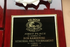 2019 Hi-Mar Fall 40 Hour Tournament - First Place Plaque