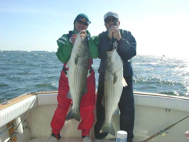 Pat & Bob Kamienski - Stripers