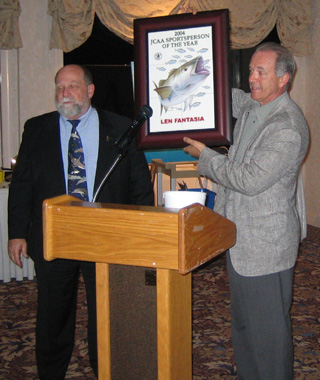 Len Fantasia - 2004 JCAA Sportsperson of the Year