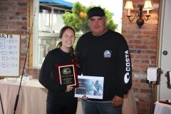 2019 Hi-Mar Fall 40 Hour Tournament - NOREAST\'R Lady Angler Winner, Kristin Kilar